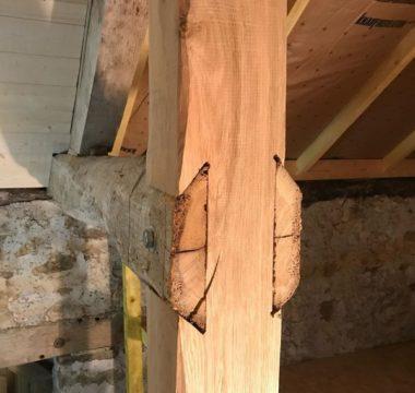 Renforcement charpente aménagement comble