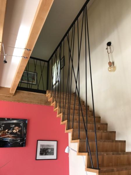 escalier-fabrication-pose-bois-metal
